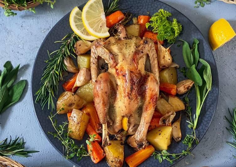 Scarborough Roasted Chicken - cookandrecipe.com