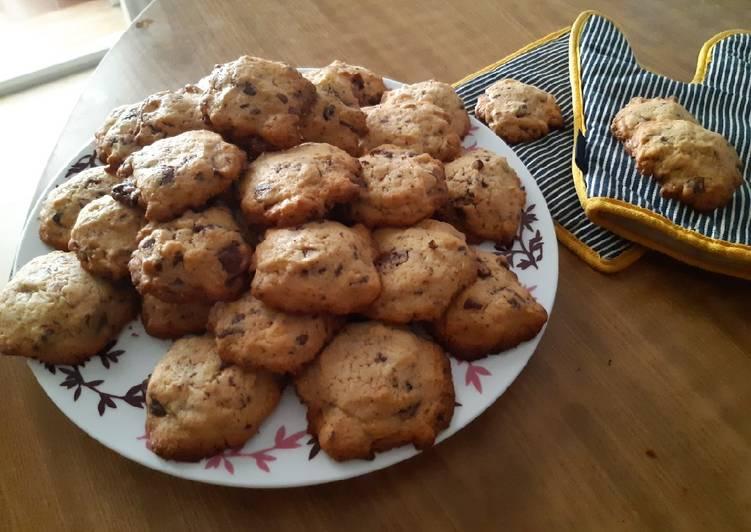 Comment Servir Cookies aux pépites de chocolat