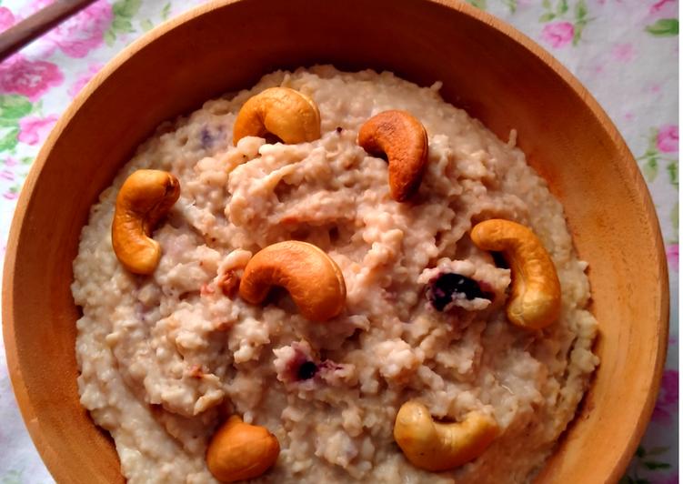 🌺Oatmeal Kacang Mede🌺 #pahlawandapur