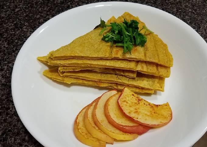 Recipe: Yummy Savory Kamut Sourdough Pancake