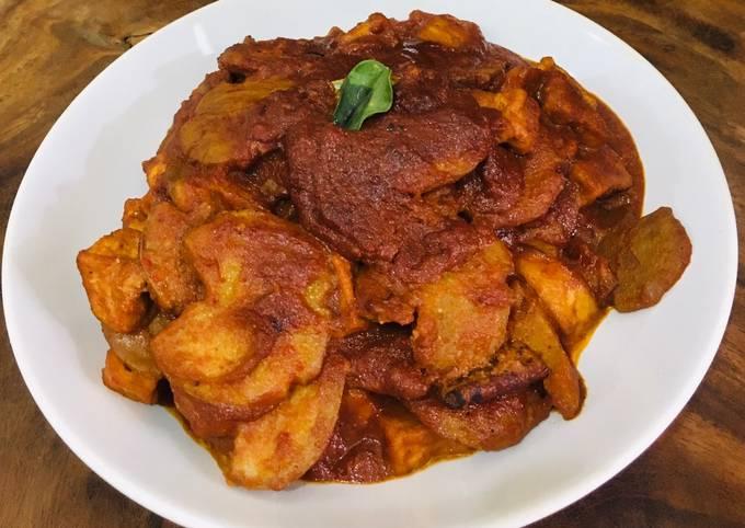 Rendang Jengkol Ala Chef Turnip