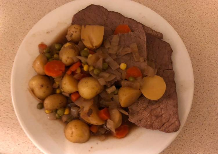 Slow cooker Sunday meal