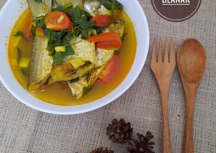 257. Sup Ikan Blanak
