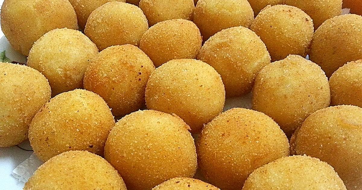 طريقة عمل كرات البطاطس المقلية 91 وصفة كرات البطاطس المقلية سهلة وسريعة كوكباد