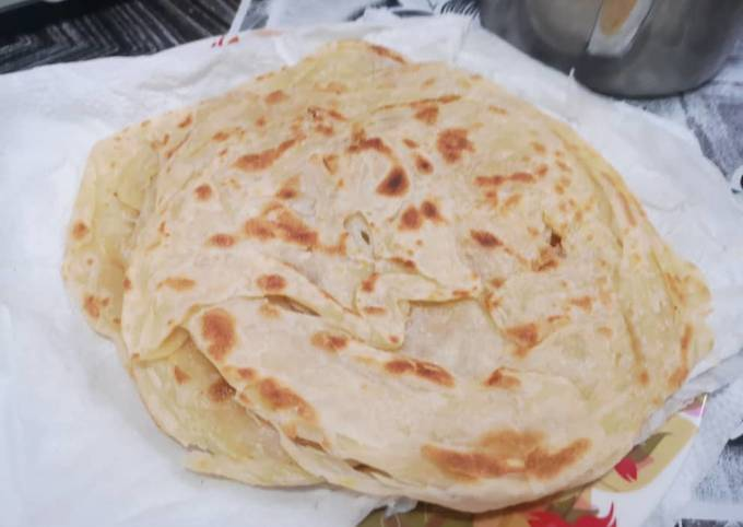Roti canai pkp without rendam minyak