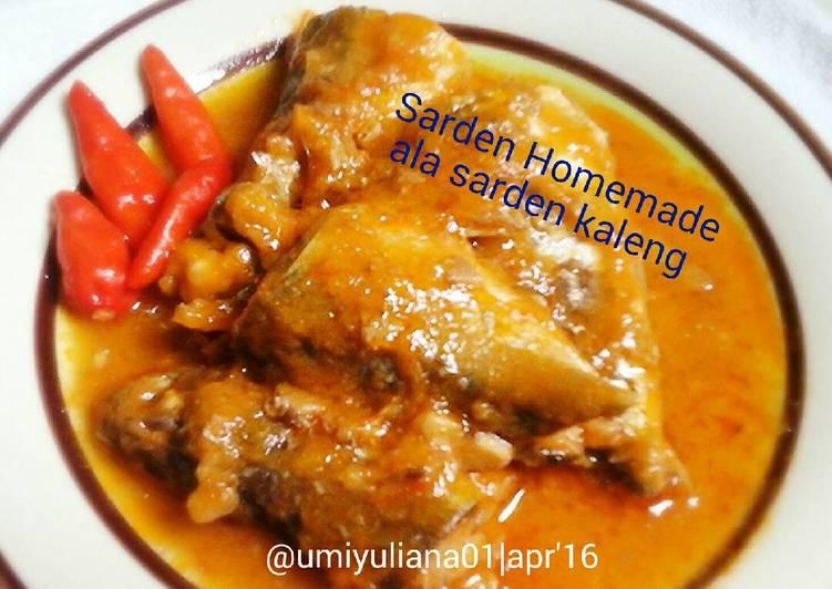 Sarden Homemade ala sarden kaleng