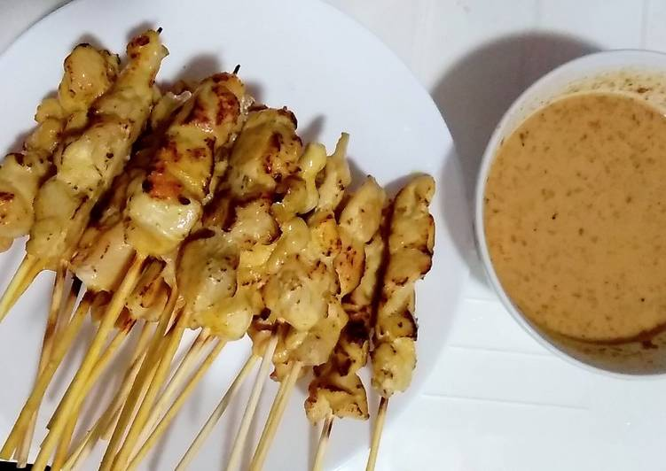 Easiest Way to Make Favorite Satay chicken