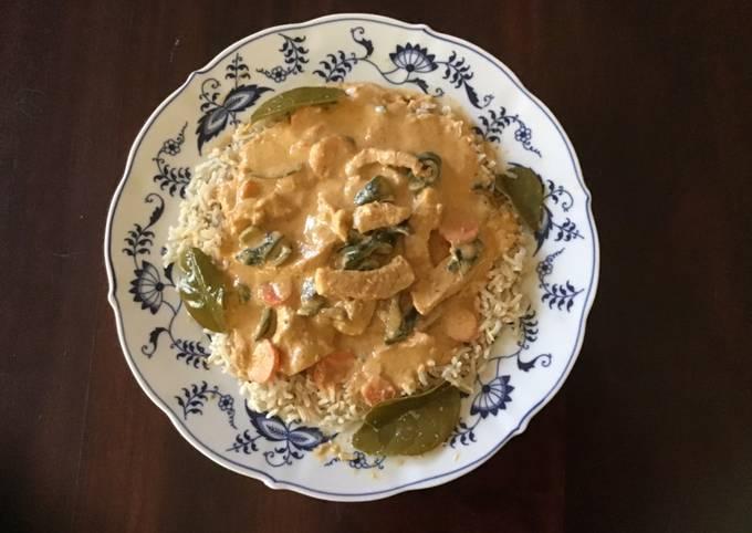 California Farm Curry dinner