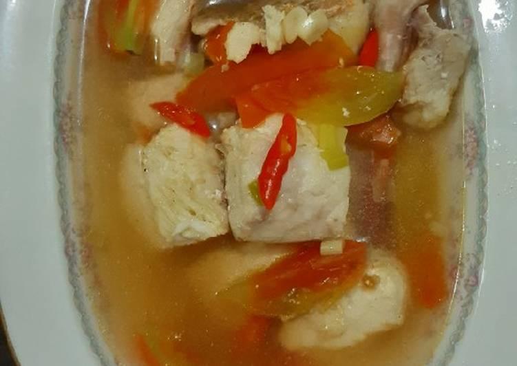 Sup ikan favorit keluarga
