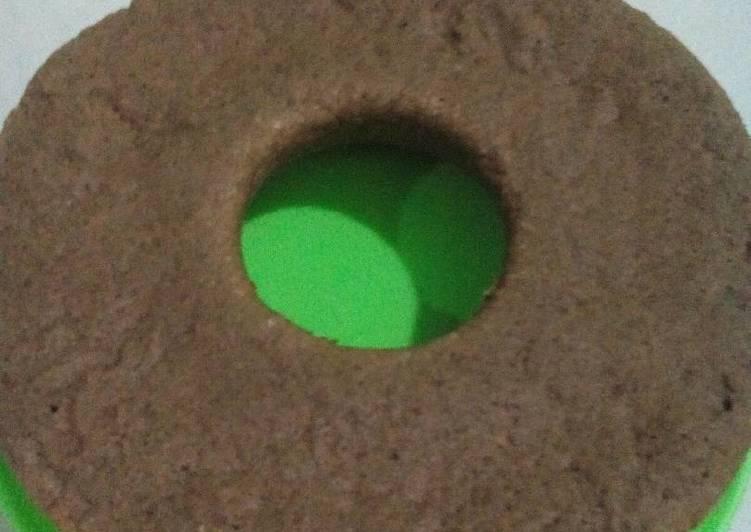 Bolu coklat panggang (Beking pan)