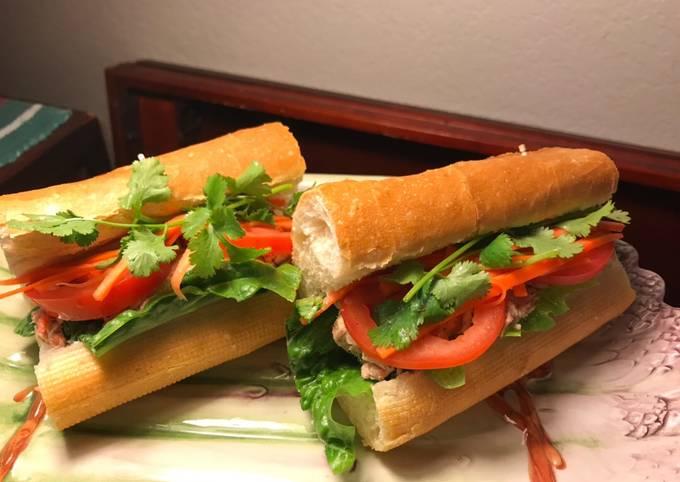 Tuna Salad Sandwich à la Vietnamese