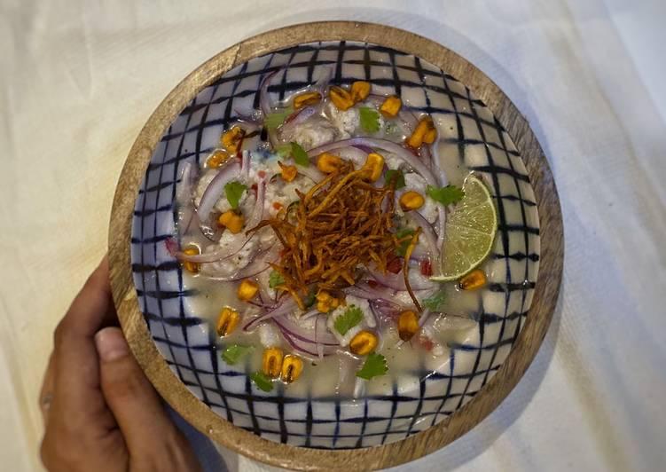 Receta Ceviche Peruano Delicioso