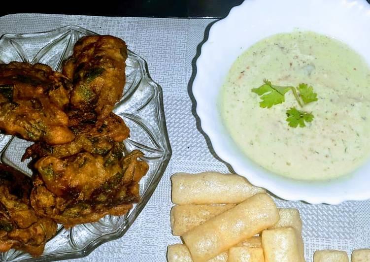 Recipe of Award-winning Coriander curd dip