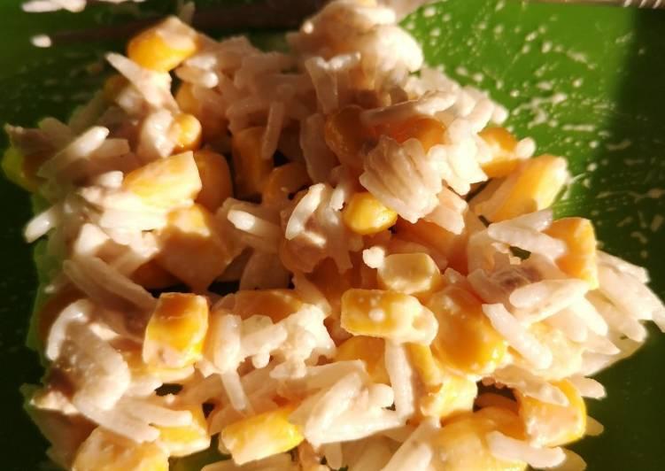 Recette De Salade de riz thon et maïs