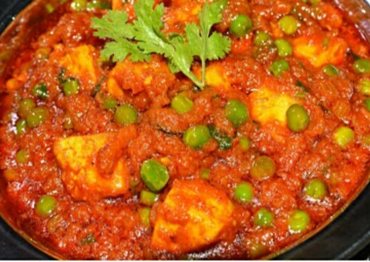 Simple Way to Prepare Any-night-of-the-week Shahi Matar-paneer