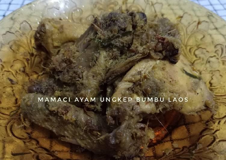Mamaci Ayam Ungkep Bumbu Laos