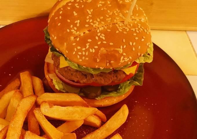 Burger Crudités