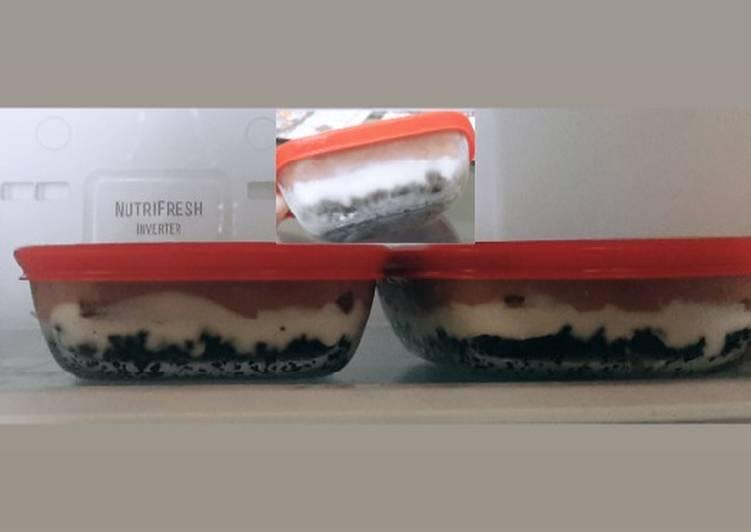Dessert Box Oreo cheesecake