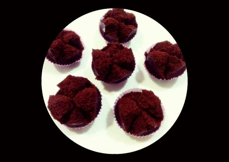 💢 Cake Coklat Tepung Beras (*No Egg No Mixer No Oven*)💢