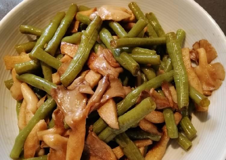 String beans w/Mushroom