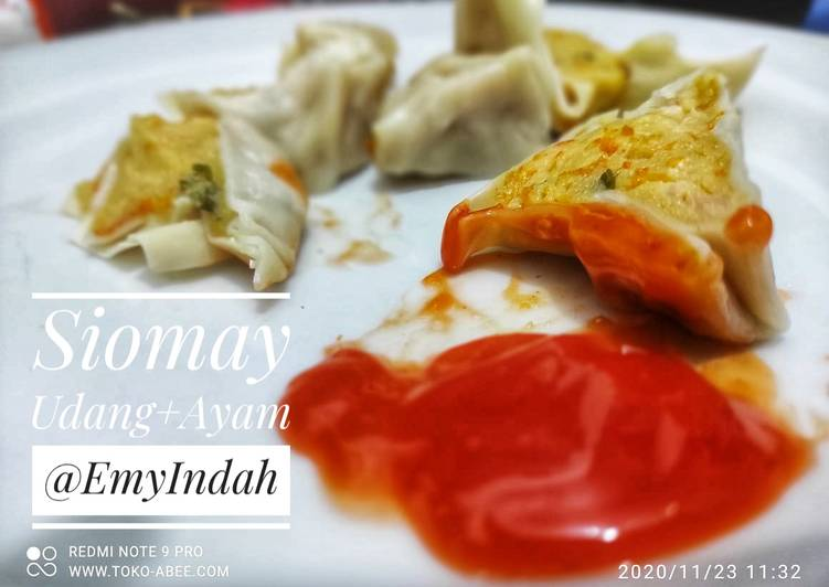 Resep Siomay Ayam+Udang yang Bisa Manjain Lidah
