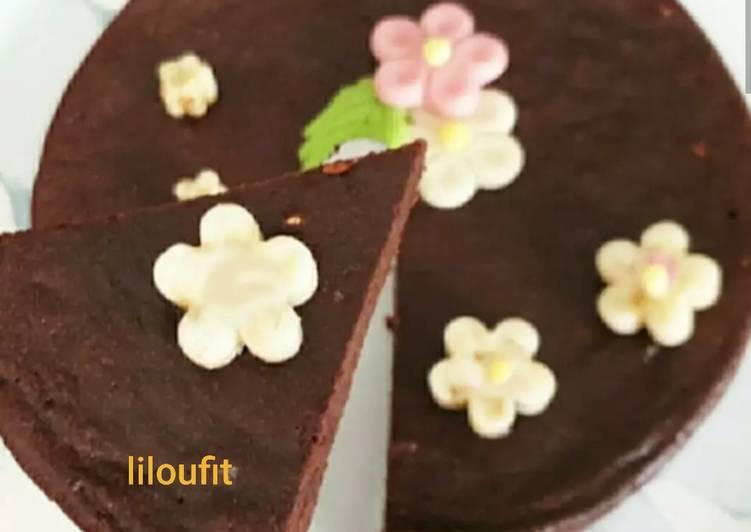 Simple  Fondant au chocolat sans matière grasse