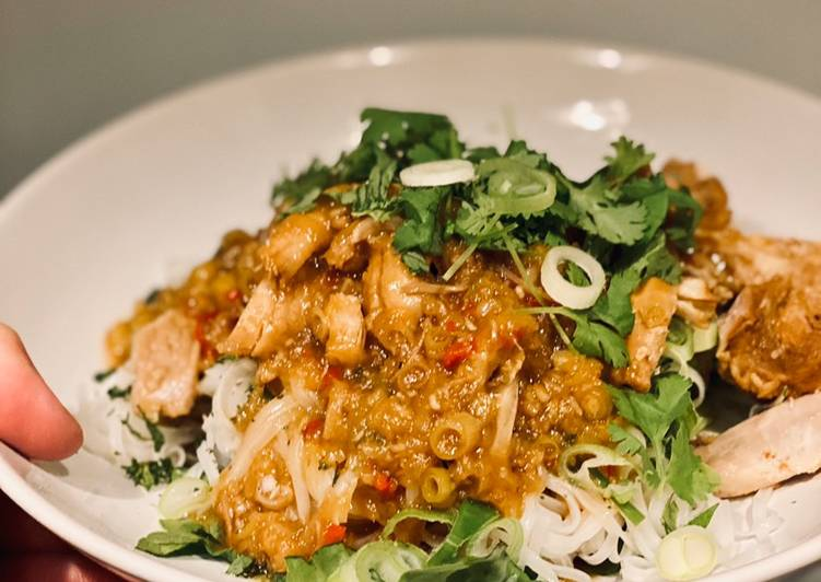 Crockpot: lemongrass ginger chicken