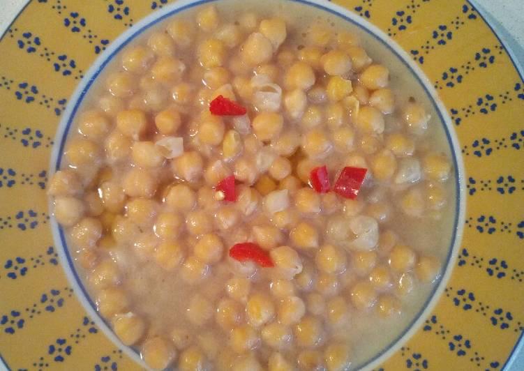 Zuppa di Ceci con peperoncino