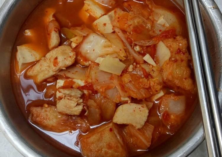 Sundubu Jjigae - menu makan sehat
