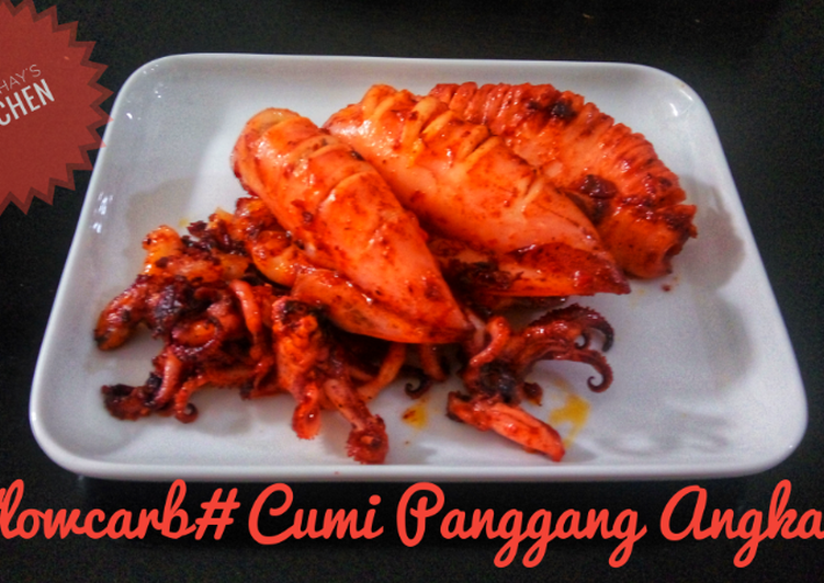 #lowcarb# Cumi Panggang angkak #seafoodfestival #ketopad