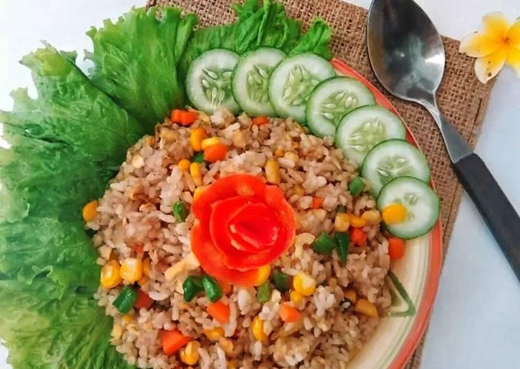 Nasi Goreng Teriyaki