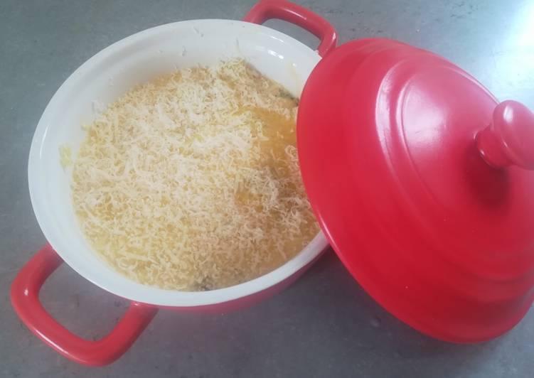 Gratin de poireaux pomme de terre au fromage blanc 0 %
