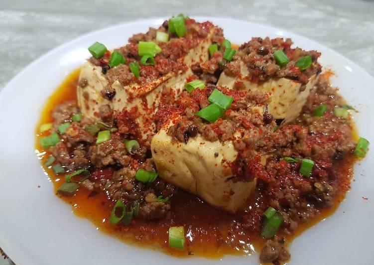 Recipe of Speedy Szechuan Mapo Tofu