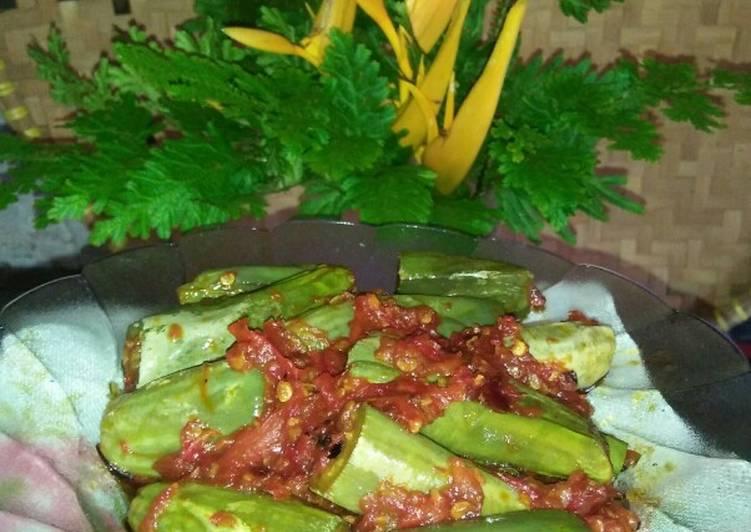 Resep *sambel terong hijau*