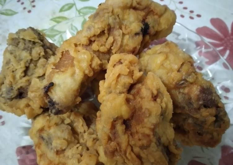 Ayam goreng crispy sambel geprek