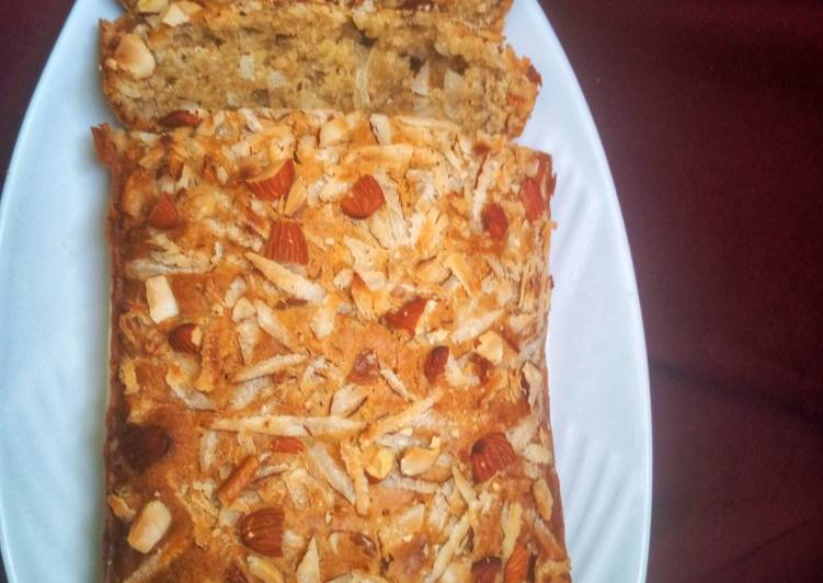 Easiest Way to Make Favorite Nuts cake loaf