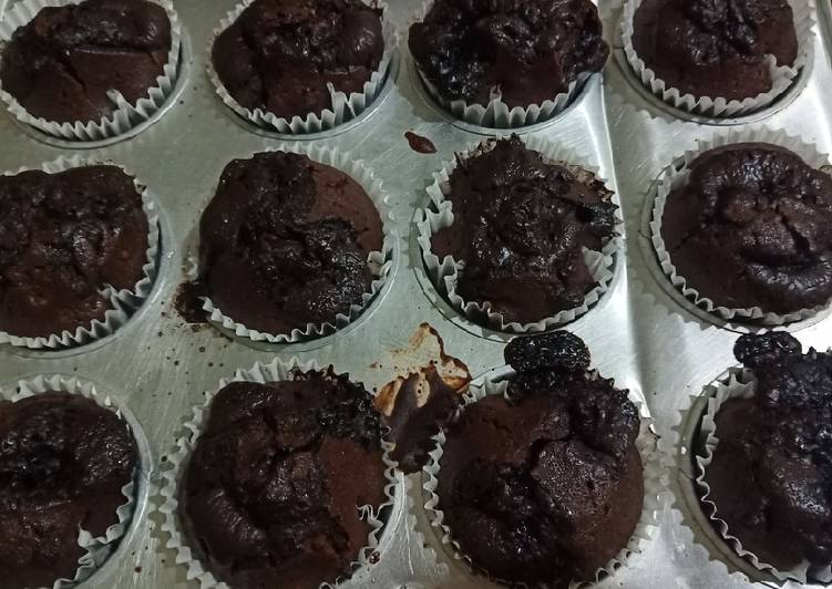 Triple Choco Coffee Muffin