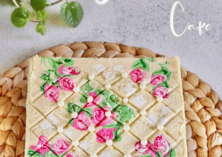 cara buat Jelita butter cake - Sajian Dapur Bunda