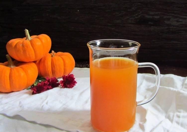 сок из тыквы с апельсином через соковыжималку