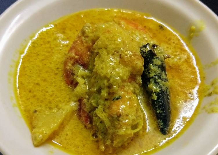Chingri Malai curry / Prawn Malaikari