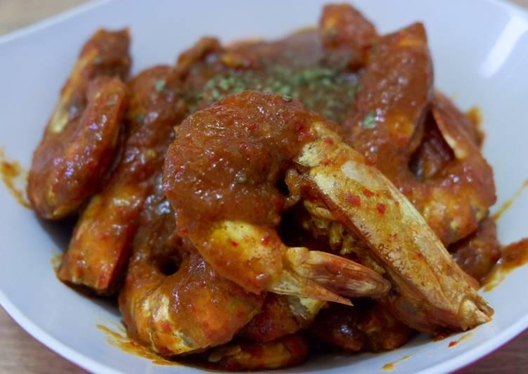 ✨43 Udang saus samyang