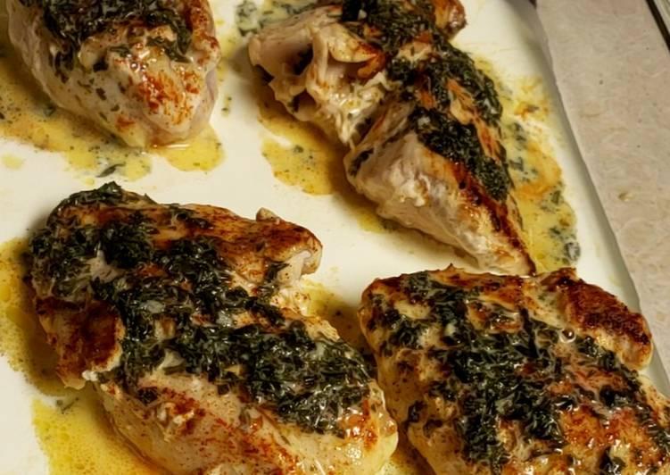 Parsley Garlic-Butter Chicken
