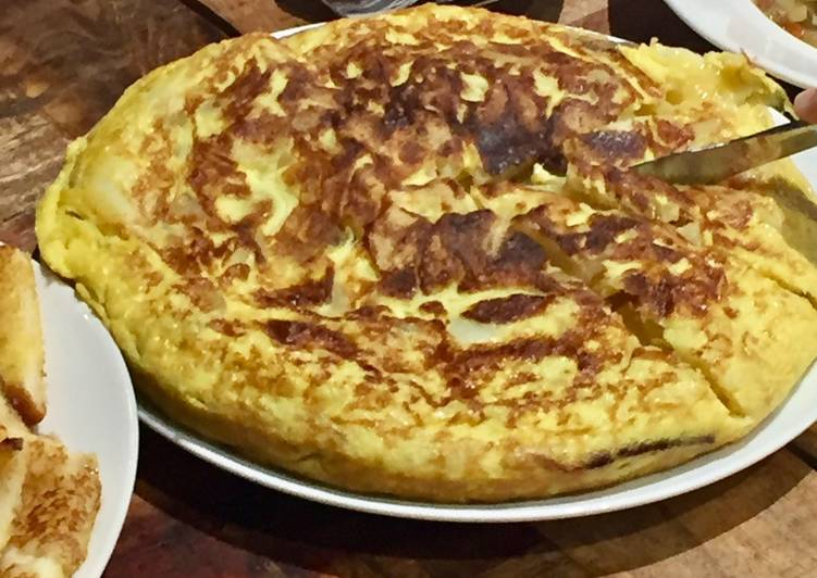 Recipe: Tasty Classic Spanish Tortilla