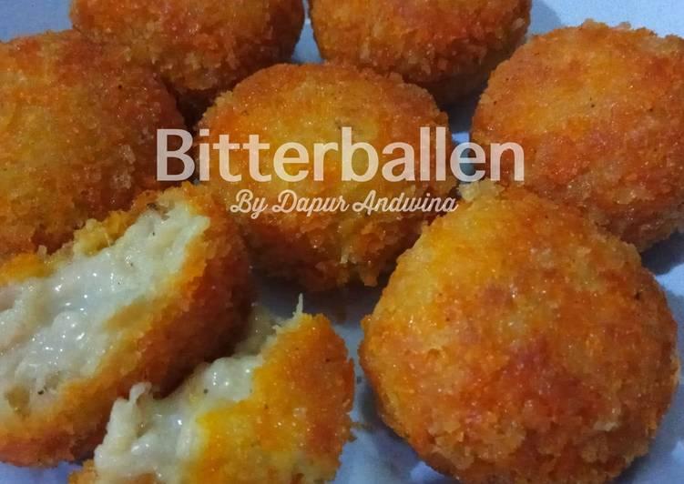 Resep Bitterballen Ayam Keju Endess Oleh Dapur Andwina Cookpad