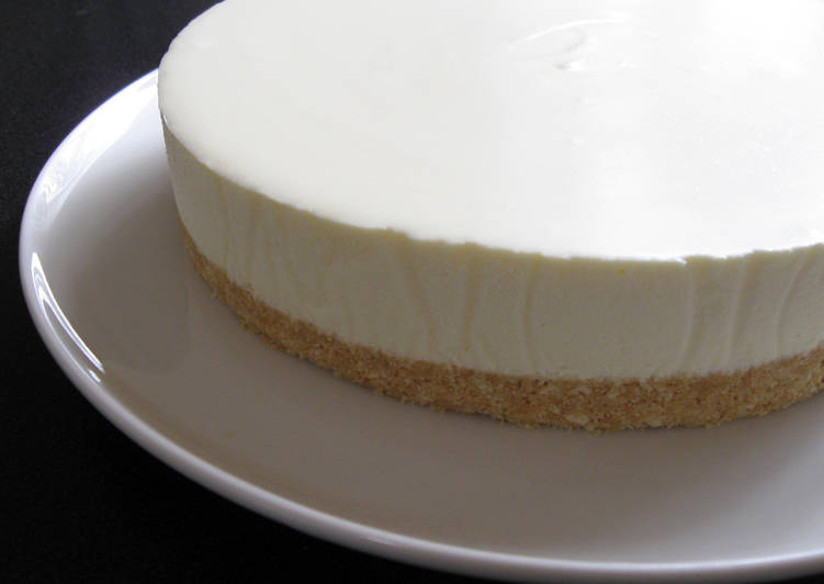 How to Cook Quick Basic No-Bake Cheesecake