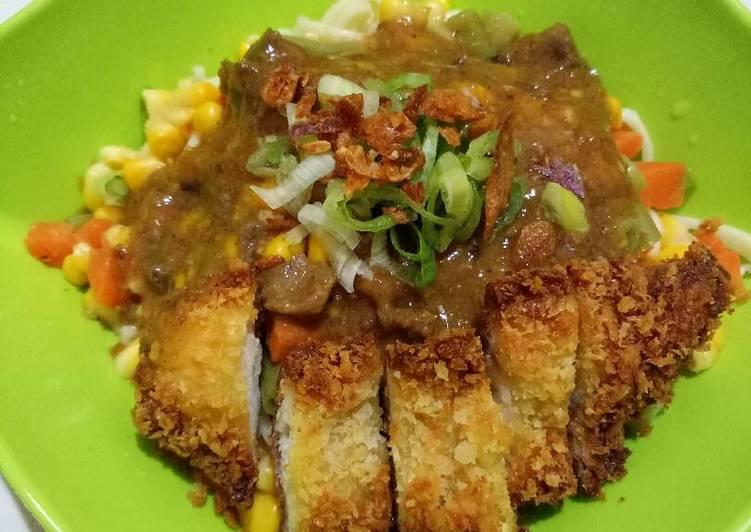 Japanese Curry Udon katsu