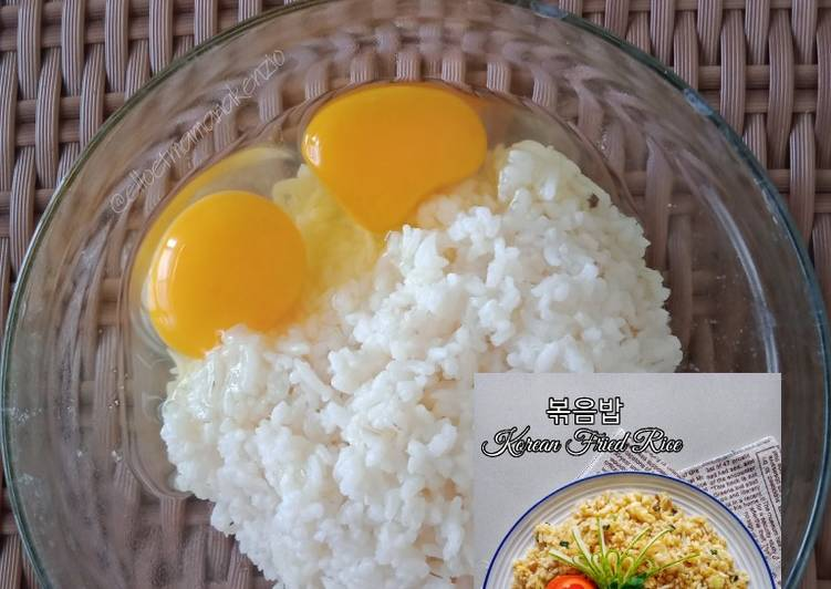 Korean Fried Rice 볶음밥