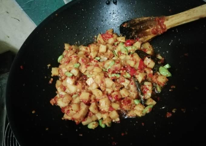 sambal goreng kentang pete - resepenakbgt.com