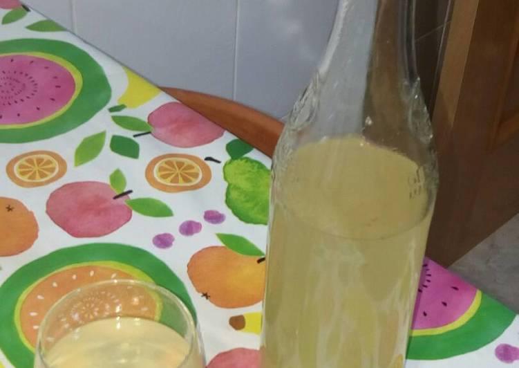 infusion de jengibre limon
