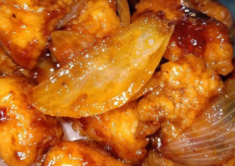 Butter chicken popcorn (ayam popcorn mentega)